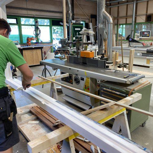 Bouwbedrijf Bolten werkplaast Alkmaar